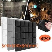 Wedge-Tiles Isolation-Eponge Foam-Panels Acoustic Wall Polyurethane Studio Soundproof