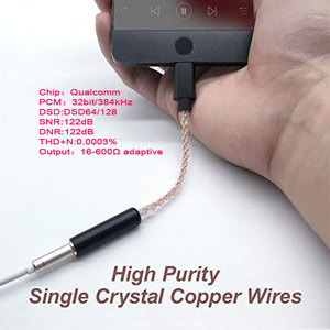 Image 2 - In Stock Dosmix HiFi DAC Earphone Amplifier Pro Type C to 3.5mm Audio Lossless Adapter Cable