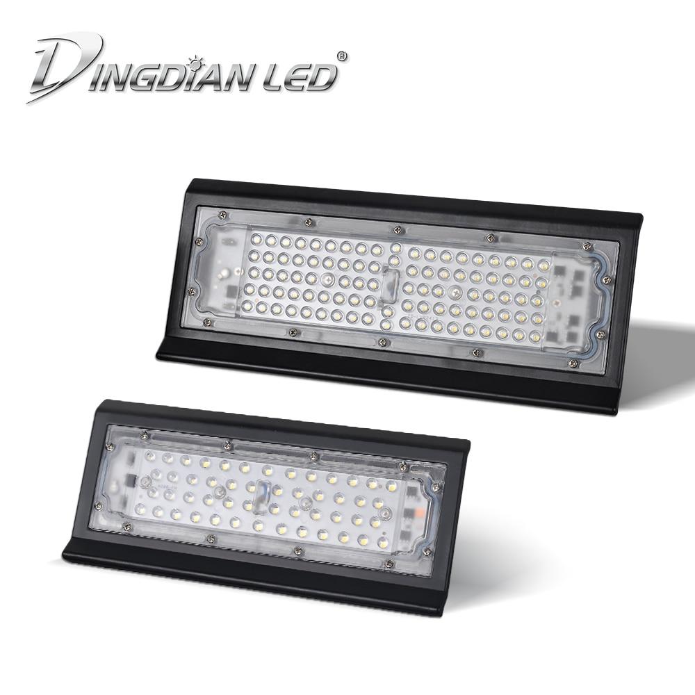 Işıklar ve Aydınlatma'ten Işıldaklar'de LED projektör dış aydınlatma spot 50 W/100 W projektör AC220V LED bahçe lambası sanayi ışık armatür sokak lambası IP66 title=
