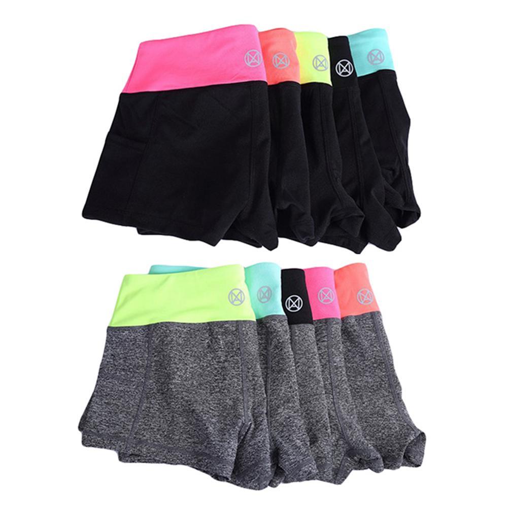 Women Yoga Shorts Gym Wear Ladies Fitness Summer Spandex Lulu Pocket Sport Shorts For Women Tight Short Workout Leggings Riding
