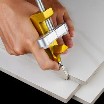 2 in 1 Glass Ceramic Tile Cutter with Knife Wheel Diamond Roller Glass Cutter Cutting Machine Opener Breaker Tools