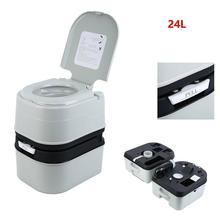 Yonntech Chemical Toilet Portable Toilet Camping Camper Tent Ship Boat 24L