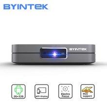 BYINTEK U20 Full HD 1080P 3D 4K Android Smart Wifi Portable Mini LED DLP Projector Beamer for Smartphone