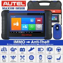Autel MaxiIM IM508 ve XP400 PRO OBD2 tüm sistem teşhis tarayıcıları IMMO tuşları programlama PK IM608