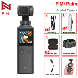 FIMI PALM 3-axis Handheld Gimbal Camera Stabilizer 128 Degree Wide Angle 4K UHD Micro Built-in Wi-Fi Bluetooth Control 240mins