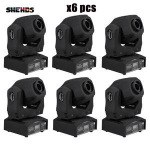 SHEHDS Moving-Head-Light DMX Gobos DMX512 Professional Spot-60w High-Brightness 9/11-Channels