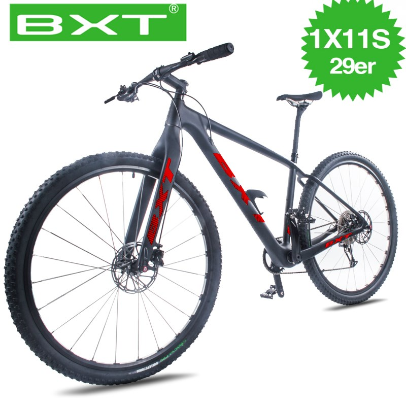 Cheap 29er MTB complete bicycle 1*11 Speed Mountain Bike 29 * 2.1 Tire Bikes Bicycle Free Delivery Men's and women Mountain Bike image