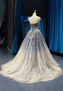 Image 4 - Женское свадебное платье без рукавов, маленькое платье подружки невесты со шлейфом для выпускного вечера