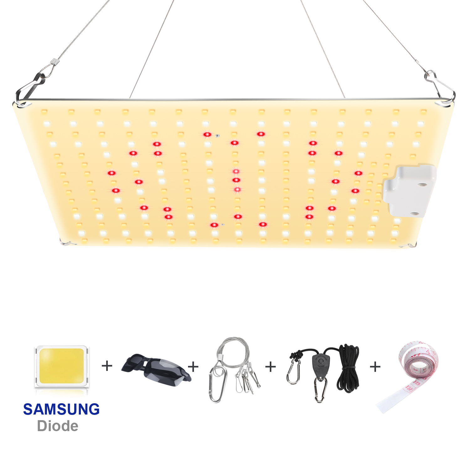 With Samsung Diode LED Grow Light Full Spectrum 600W Plant Growth Light for Indoor Greenhouse Hydroponic Plants Growing Lamp