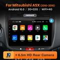 Автомагнитола AWESAFE PX9 для Mitsubishi ASX 1 2010-2016, мультимедийный видеоплеер с GPS-навигацией, 2 din, DVD, Android 10
