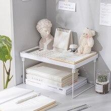 Startseite Closet Organizer Lagerung Regal für Küche Rack Platzsparend Kleiderschrank Dekorative Regale Schrank Inhaber