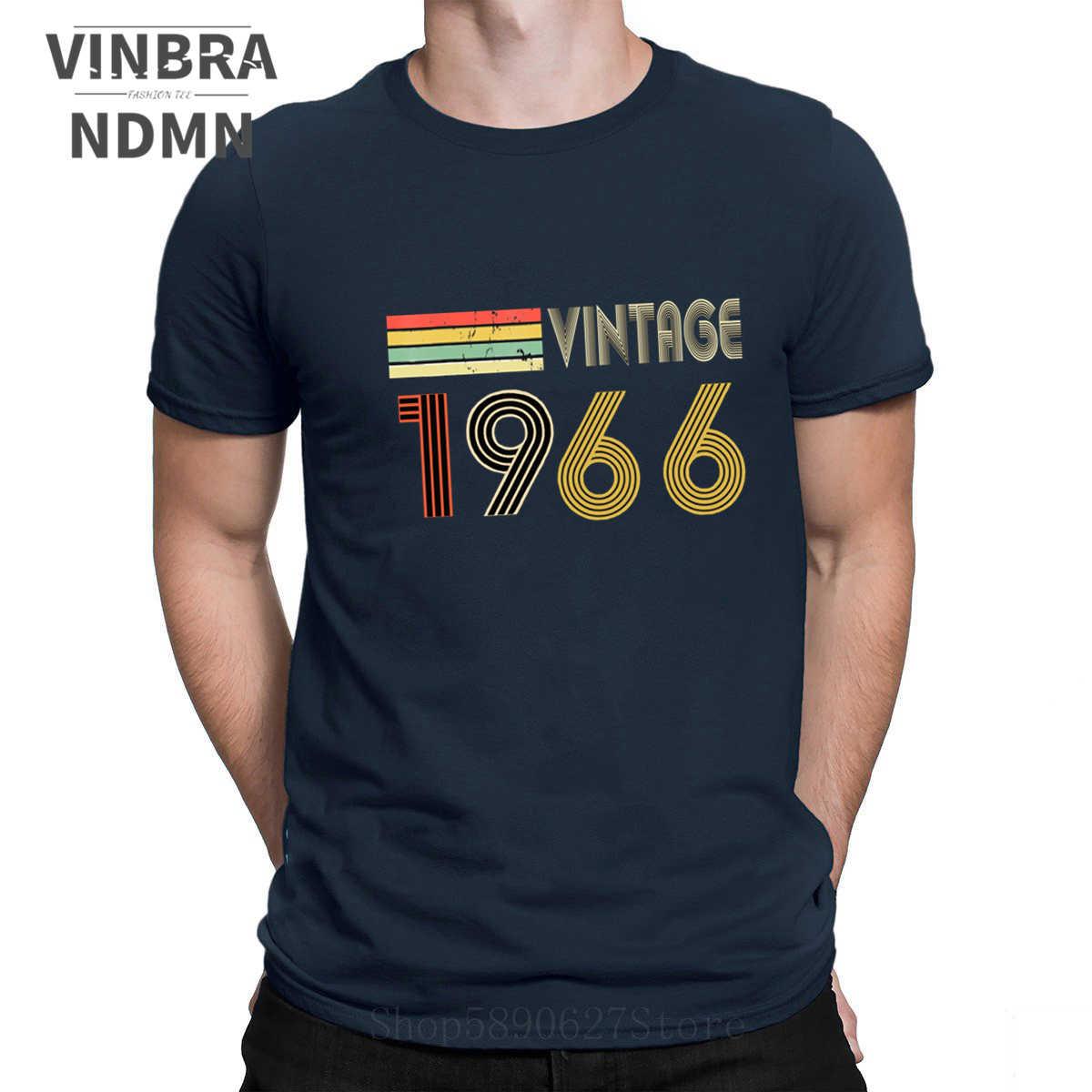 54th Birthday Made In Year 1966 All Original Parts Tshirt Dad Grandad Brother