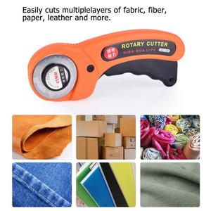 1Pc 45mm Rotary Cutter Premium Quilters Sewing Quilting Fabric Cutting Tool Professional Tailor scissors DIY&Clothing production