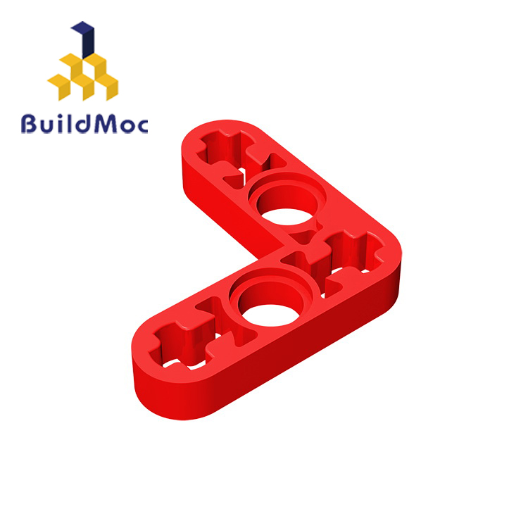 BuildMOC Compatible Assembles Particles 32056 Liftarm 3x3 L-Shape For Building Blocks Parts DIY LOGO Educational Tech Toys
