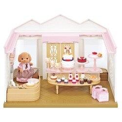 Semipkg Kinderen Sylvanian Speelgoed-Stijl Taart Winkel Meisje Speelhuis Model Pop Speelgoed 5263