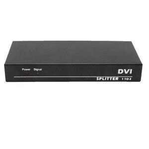 Image 2 - 2 Ports DVI Splitter 1x2 dvi Adapter Distributor,Dual link Dvi D 29 pin Female Connector For CCTV Monitor Camera Multimedia STB