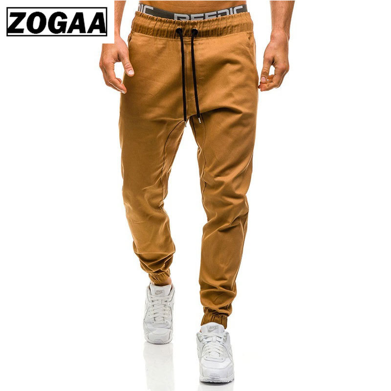 Man Casual Cargo Pants Plus Size Cotton Pockets Trousers Solid Brand Men Long Pants New Sweatpants Male Joggers Cargo Trousers