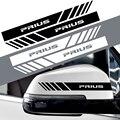 2 шт. Автомобильная наклейка на зеркало заднего вида украшения наклейки для TOYOTA C-HR RAV4 Camry Avalon Avensis Prado Prius аксессуары
