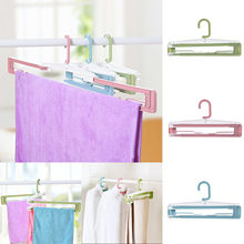 Collapsible Clothes Rack Home Towel Bath Towel Hanging Rack Drying Rack Hanger household accessories new arrivals best selling(China)