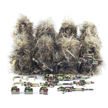 Building Blocks Military Special Soldier Figure Camouflage Colour Ghillie Suit Sniper Accessories Weapon Kids Toys