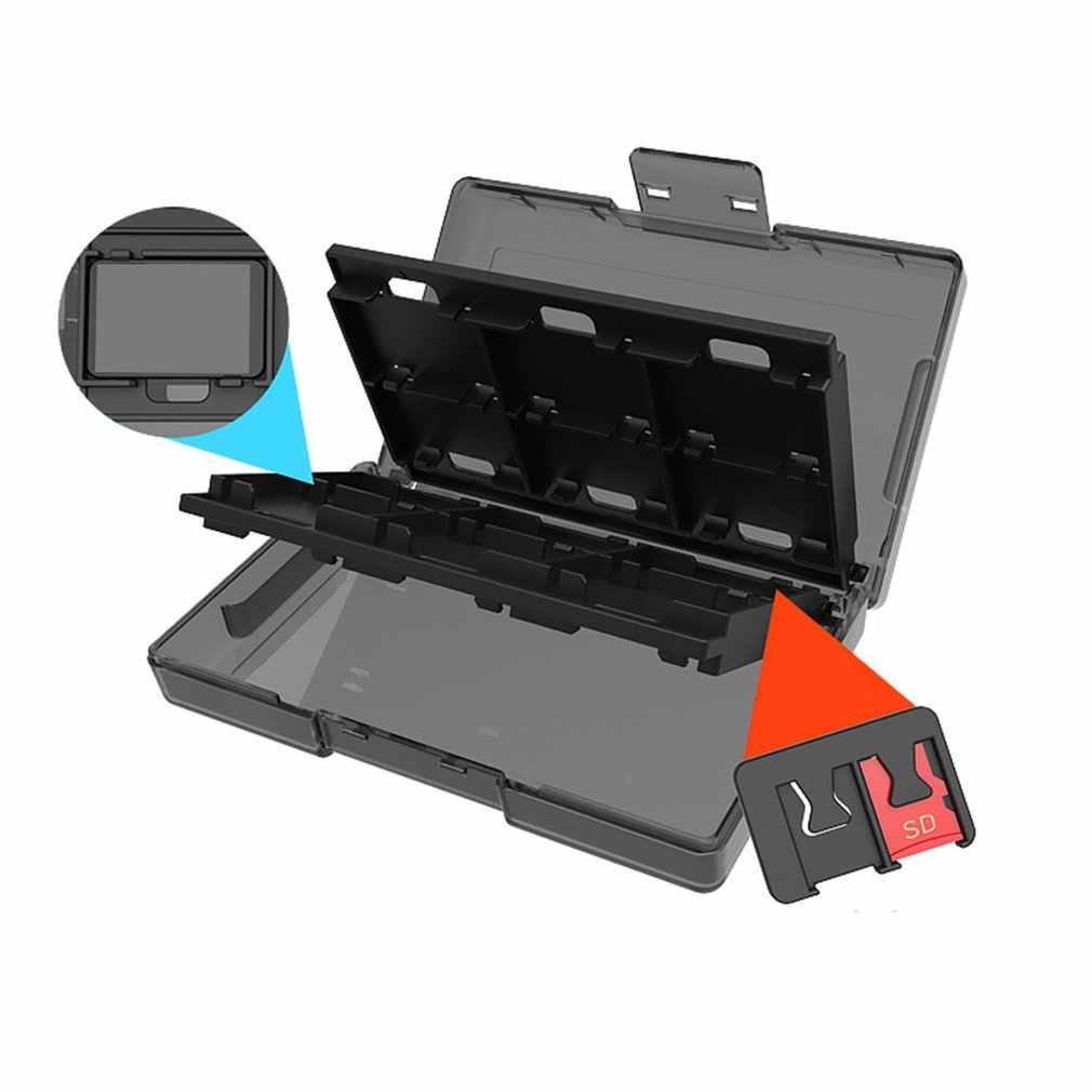 Nintend 収納ボックススイッチカセットボックス 24 1 Sd カード収納ボックスゲームカセット収納ボックス