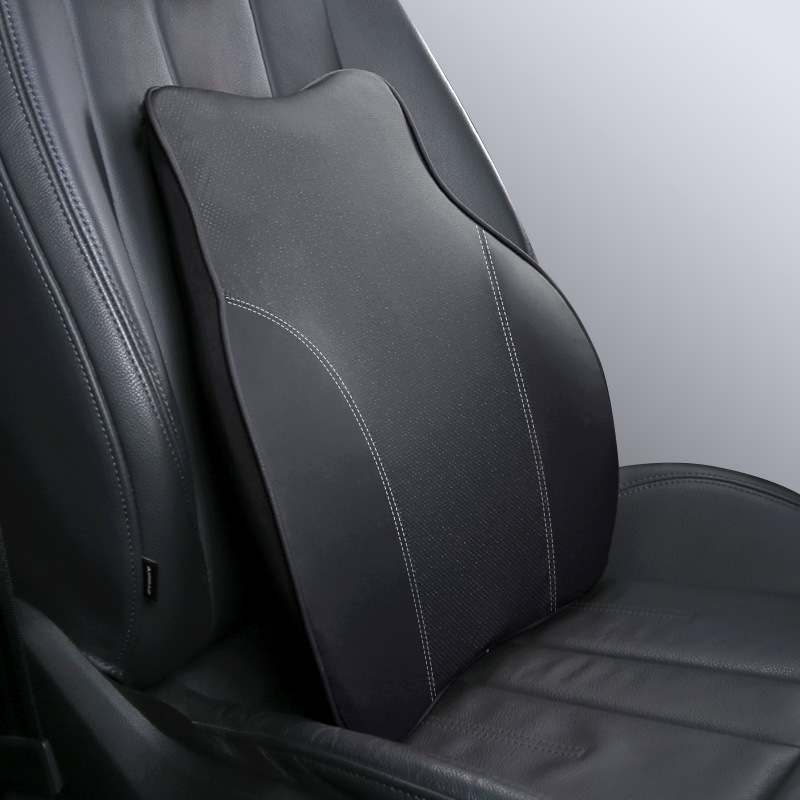 Car Backrest Car Memory Foam Cushion Car Lumbar Support Car Lumbar Cushion Has Soft Breathable Skin-friendly And Sweat-absorbing