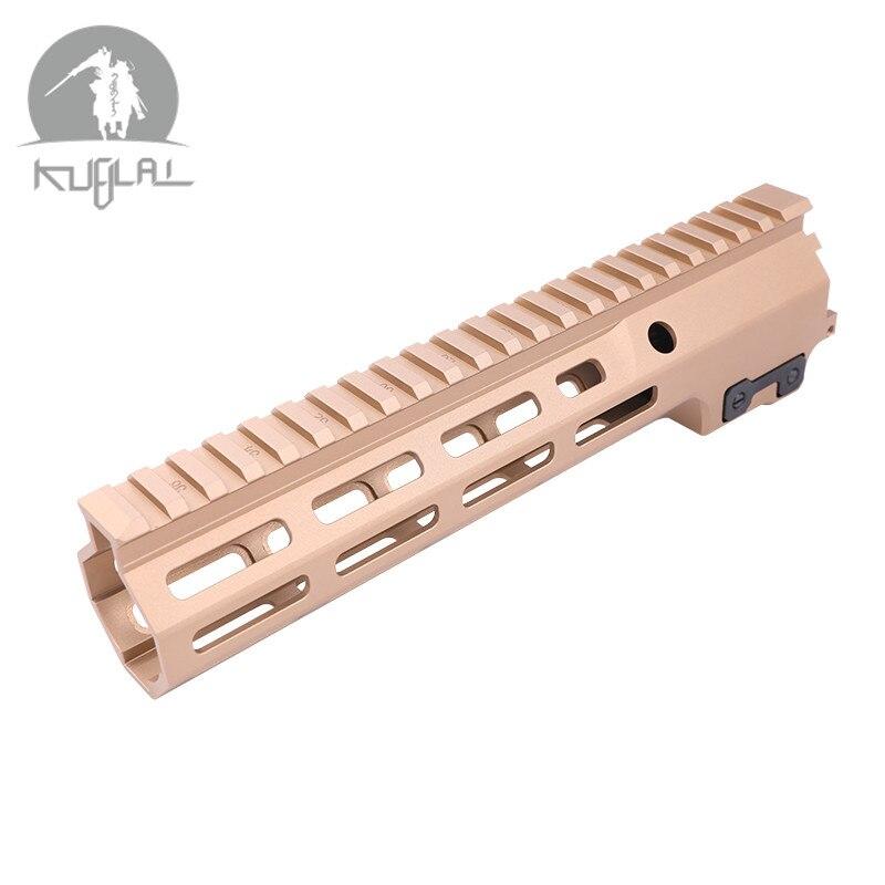 Sıcak satış 9.5 inç 13.5 inç süper modüler ray MK16 Handguard raylı jel Blaster