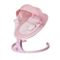 Infant und kind elektrische schaukel multifunktionale kinder rocking stuhl neue smart Bluetooth elektrische wiege krippe