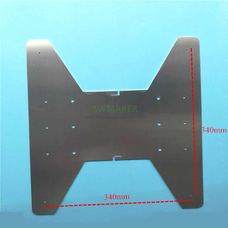 creality cr 10 s5 y axis transporte placa de aluminio apoio viveiro construir placa cr 10