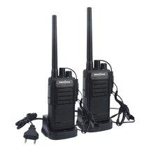 2pcs SOCOTRAN WH-218 Talkie Walkies UHF 400-470MHz 16CH Portable radio comunicador profissional woki toki Transceiver
