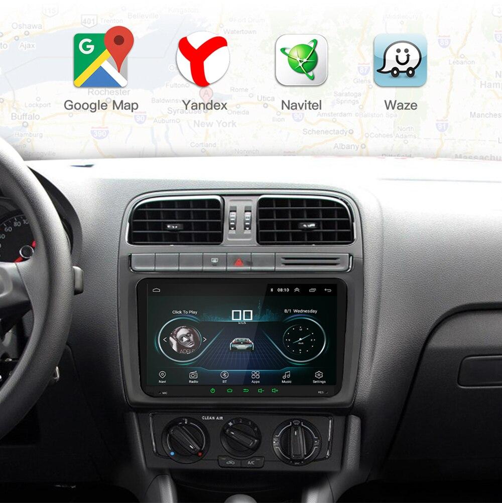2 Din Android 9.1 2 + 32G voiture lecteur multimédia 2Din 9 pouces Auto Radio pour VW/Volkswagen/Golf/Tiguan/Passat/b6 b5 Radio GPS - 3