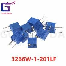 3266W-1-201LF 200R 10pcs 3266W 3266 200 ohm Trimpot Trimmer Potenciômetro