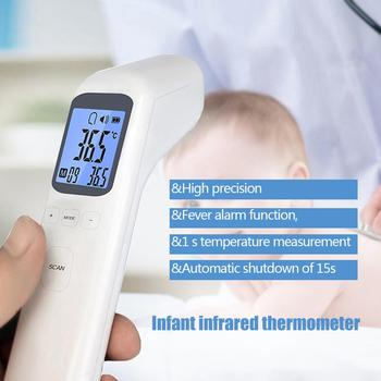 Household Thermometers Non Contact LCD Digital Thermometers Infrared Forehead Body Thermometer Temperature Measuring Tools