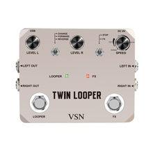 Twin looper педаль эффектов для электрогитары loop station 11