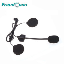 FreedConn-auricular T-MAX COLO T-COMVB/SC, dispositivo de audio con cable duro y altavoz para motocicleta, con máscara abierta/media, intercomunicador Bluetooth