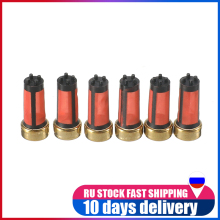 20 Pcs Car Petrol Fuel Injector Micro Filter MD619962 For Mitsubishi Auto Sapre Parts Accessories 14*6*3mm