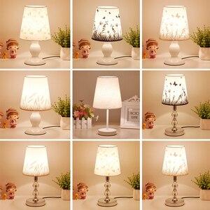 Image 1 - Crystal Table Lamps For Bedroom Living Room LED Bedside Lamp Art Modern Bed Lamp Christmas Decoration Lampe De Chevet De Chambre