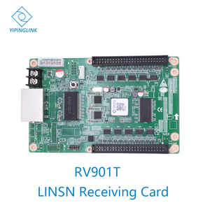 Image 1 - LINSN full color synchronous led screen display receiving card RV901 RV901T receiver card