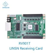 Tarjeta receptora RV901 RV901T de pantalla led síncrona a todo color