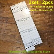 """40 pièces/lot LED bande de Rétro Éclairage Pour LG 42 """"TV 42LB5800 42LF5600 42LB6300 42LB561V 42LB5610 6916L 1956A 6916L 1957A 100% NOUVEAU"""