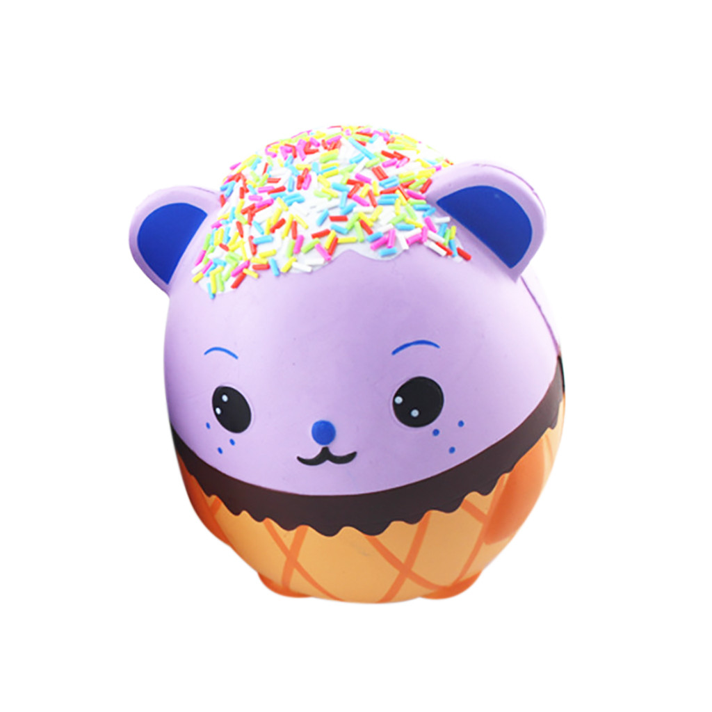 Jumbo Kawaii Cute Panda Scented Squishy Doll Slow Rising Kids Toys Relief Funny Squeeze Toys For Baby Kids Gift 19*14*7CM