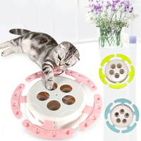Pet Dog Cat Feeder Plastic Toy Training Intelligence Looking for Food Slow Feeding Interactive Toy for Pet Cats Dog Toy Product