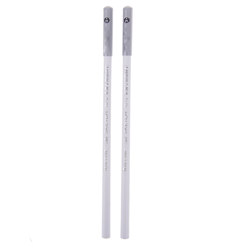 Professional Standrad 2pcs/lot White Pastel Charcoal Drawing Sketch Pencils Drawing Pencil School Tool Painting Art Supplies