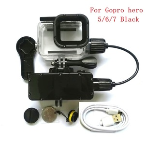 Image 3 - Suptig 5200 7800mah防水パワー銀行バッテリー充電器防水ケース移動プロヒーロー8/7/5/4/3アクションカメラSJ8 H9R充電ボックス
