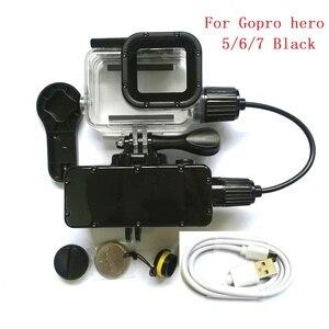 Image 3 - Suptig 5200mAh עמיד למים כוח בנק סוללה מטען עמיד למים מקרה עבור GoPro גיבור 8/7/5/4/3 פעולה מצלמה SJ8 H9R טעינת תיבה