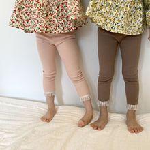 2021 Spring New Arrival Girls Fashion Korean Design Pants Kids Leggings