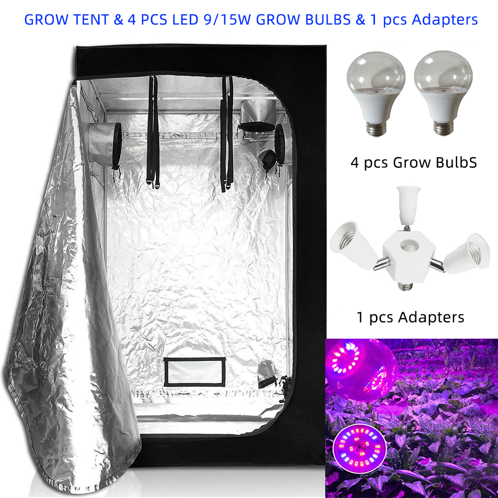 Newest IP65 36W 60W Grow Bulb Light E27 AC85-265V Phyto Lamp Full Spectrum & Indoor Hydroponics Grow Tent For Grow Tent Kits