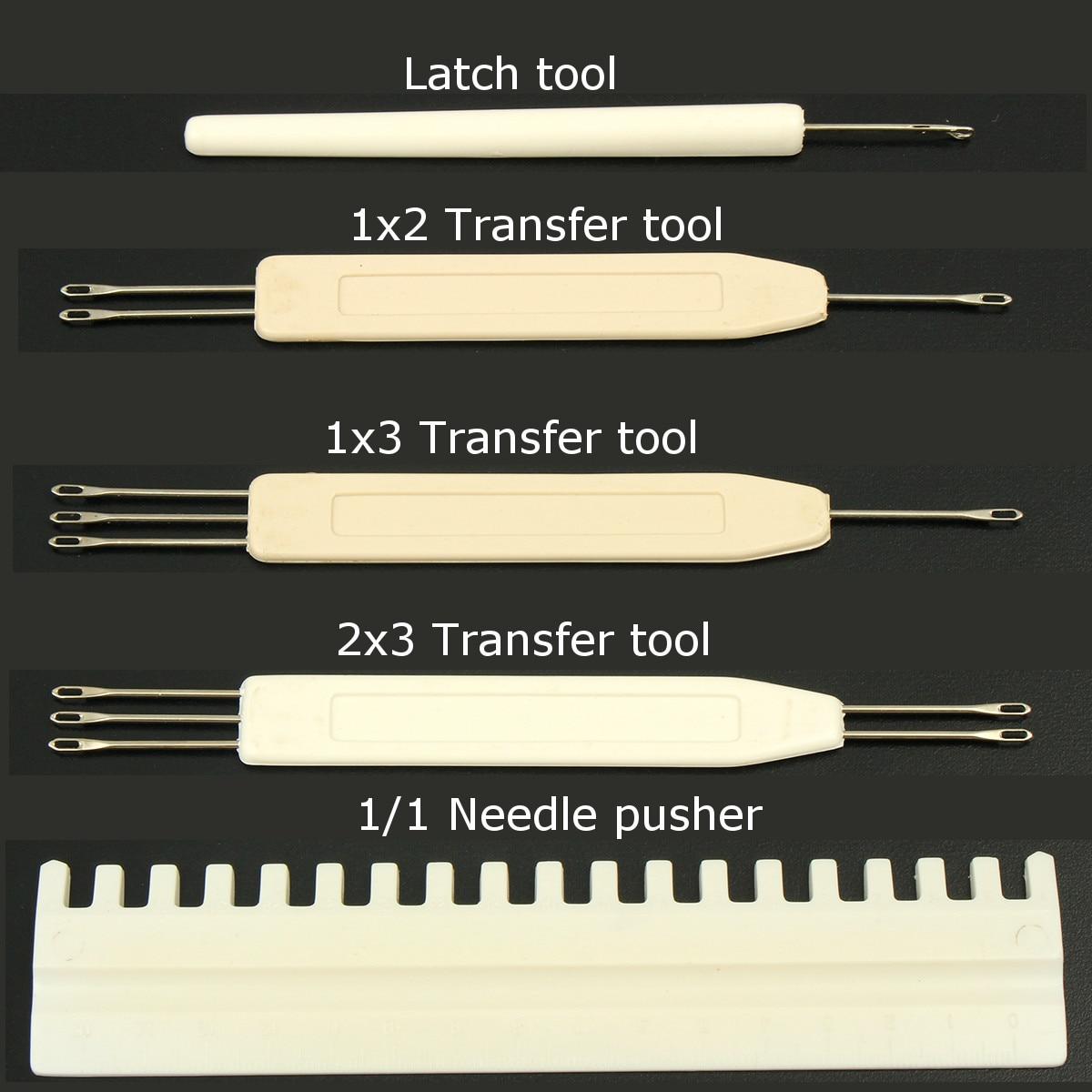 Herramienta de Transferencia Aguja de Empuje Herramientas de Coser de Ganchillo para m/áquina de Tejer KH581 KH811 KH821 Accesorios para m/áquinas de Coser