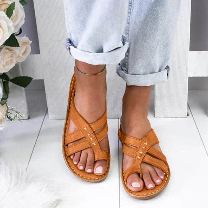 Woman Shoes Comfy Platform Slippers Gladiator Wedge Sandals Ladies Casual Clip Toe Sewing Women Flip Flop Female Summer New 2020