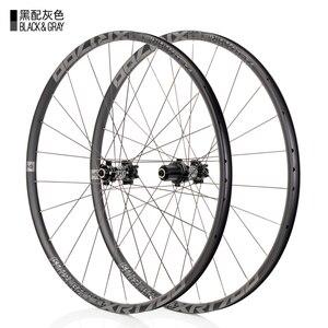 Image 2 - KOOZER XR1700 MTB Mountain Bike 26 27.5inch Wheelset 6 Claw Sealed Bearing QR Thru axis Bicycle Disc Braake Wheels DT Spoke 24H